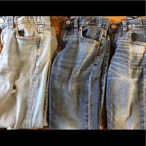 Bundle 3 pair boys old navy jeans